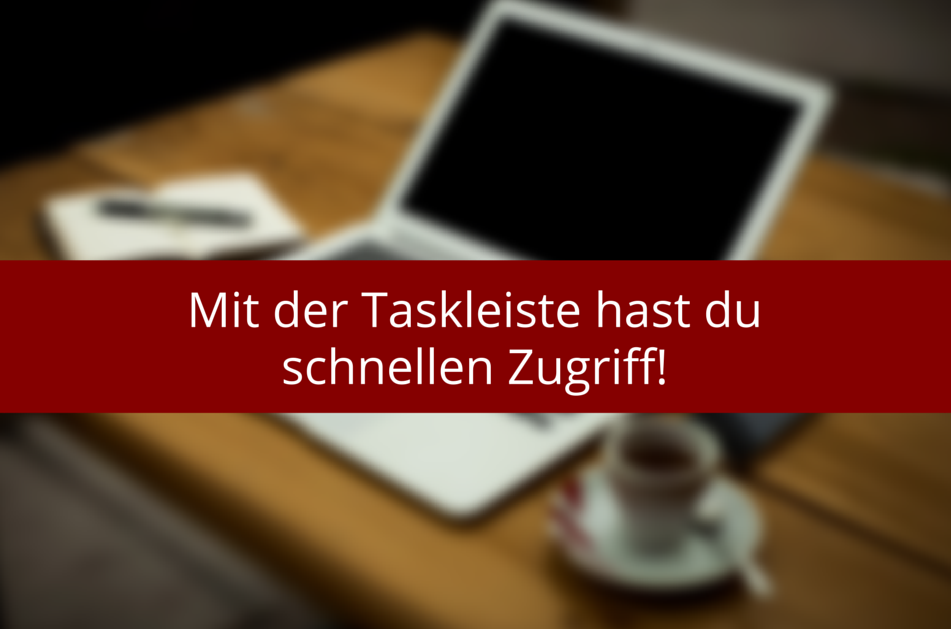 Taskleiste in Windows8