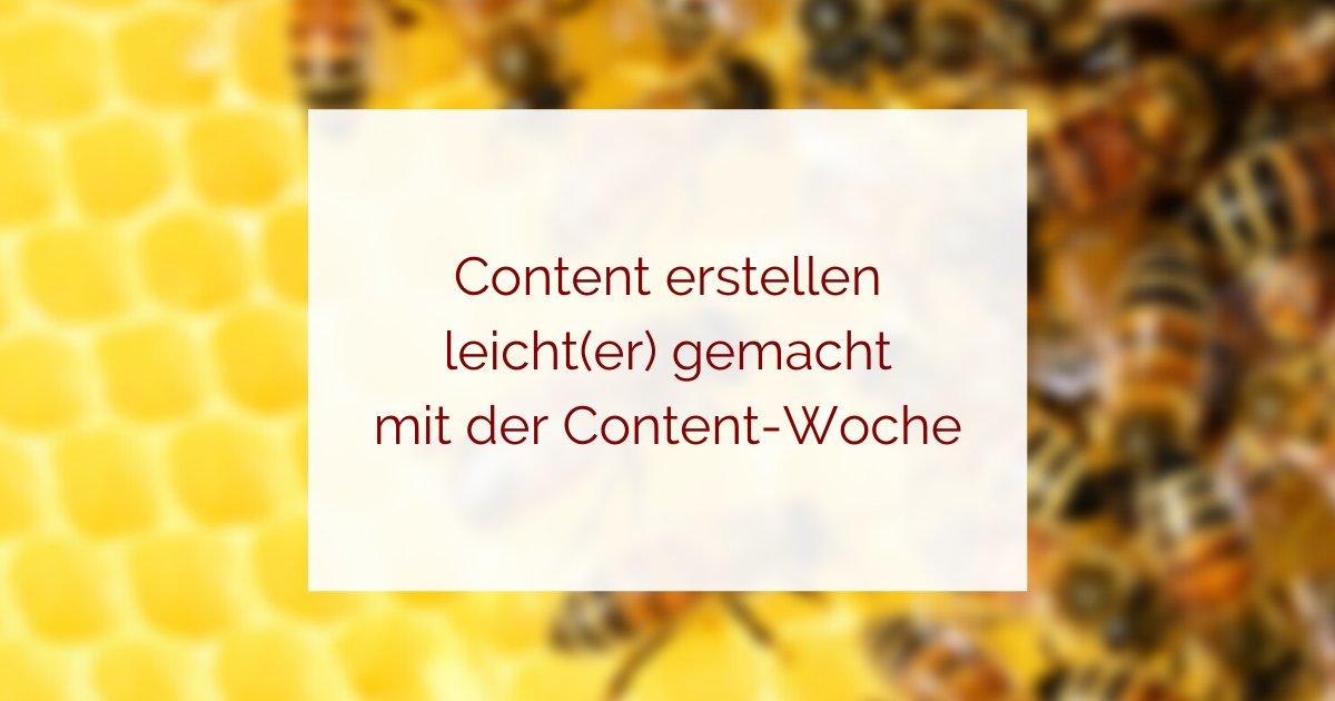 Inhalte erstellen leicht gemacht
