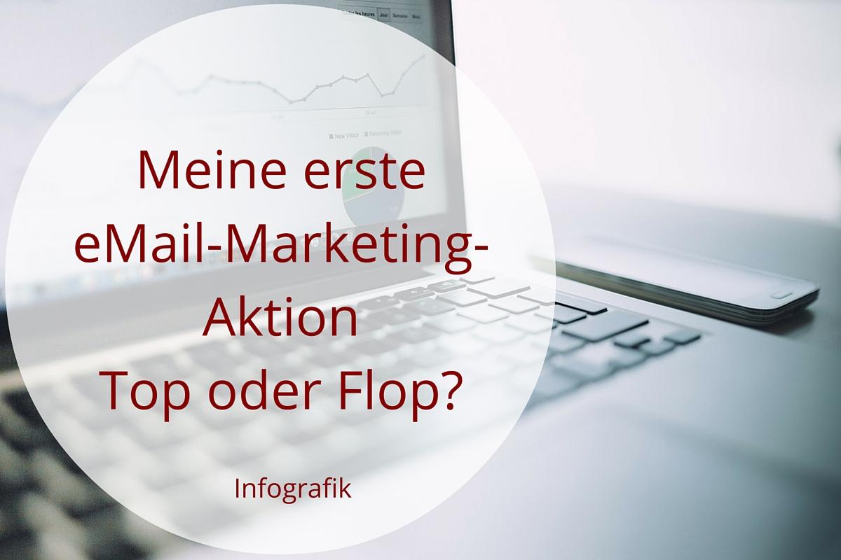 eMail-Marketing - mein erstes Mal