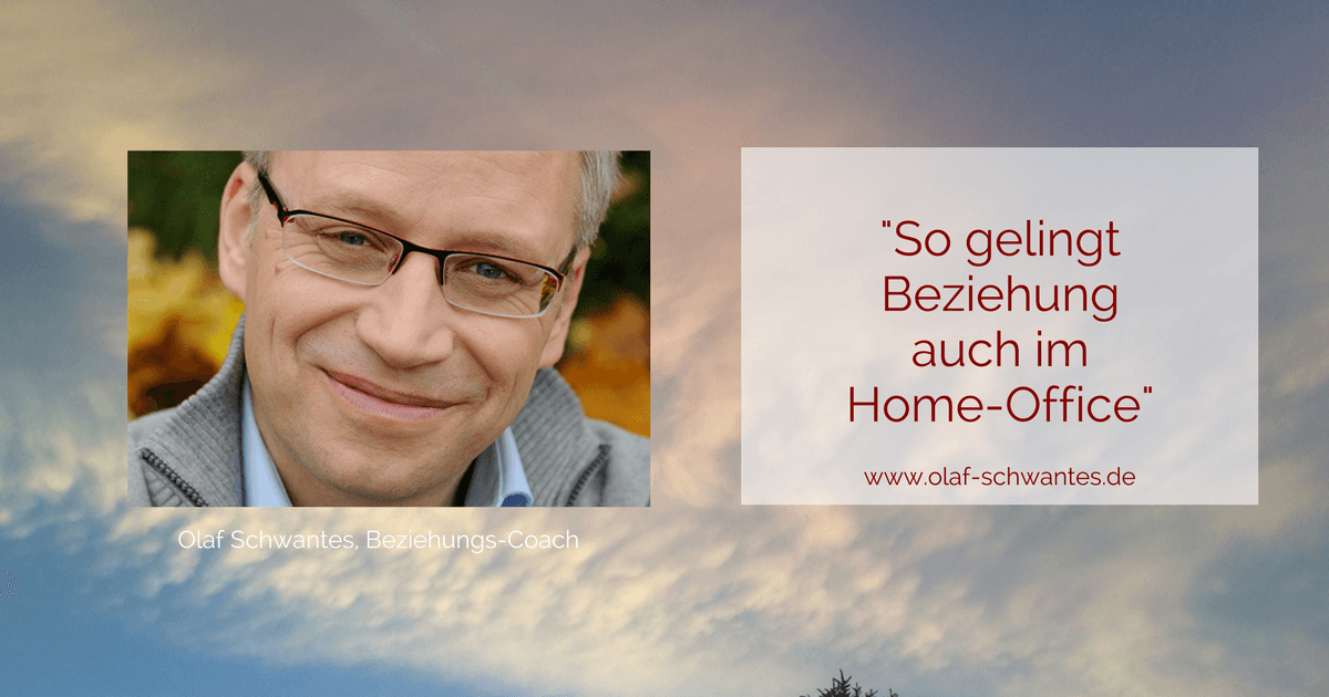 Home-Office Beziehung funktioniert