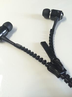 Kopfhörer mit Zippverschluss
