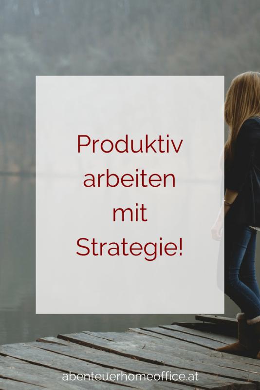 Produktivität durch Strategietag