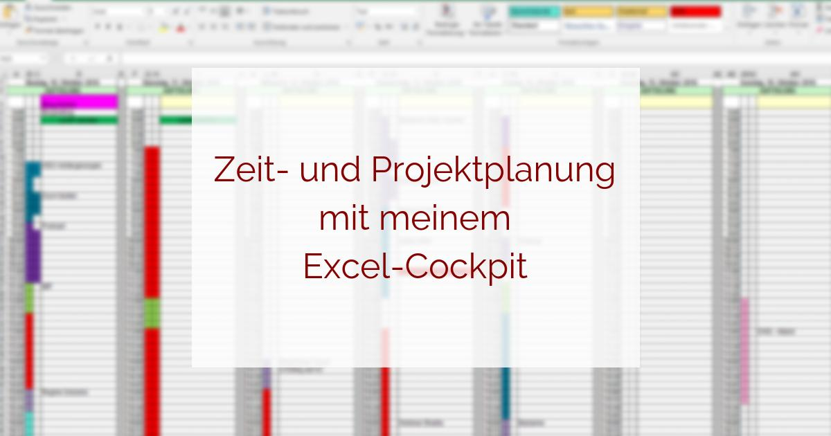 Zeitplanung und Projektplanung mit Excel