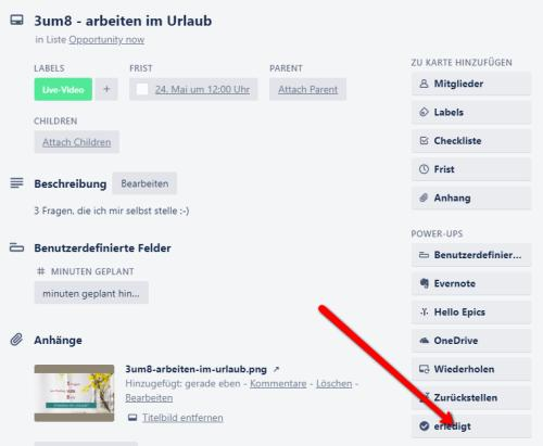 Ein Card-Button im Trello-Butler