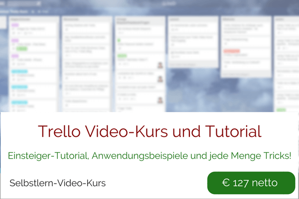 Trello Video-Kurs Tutorial