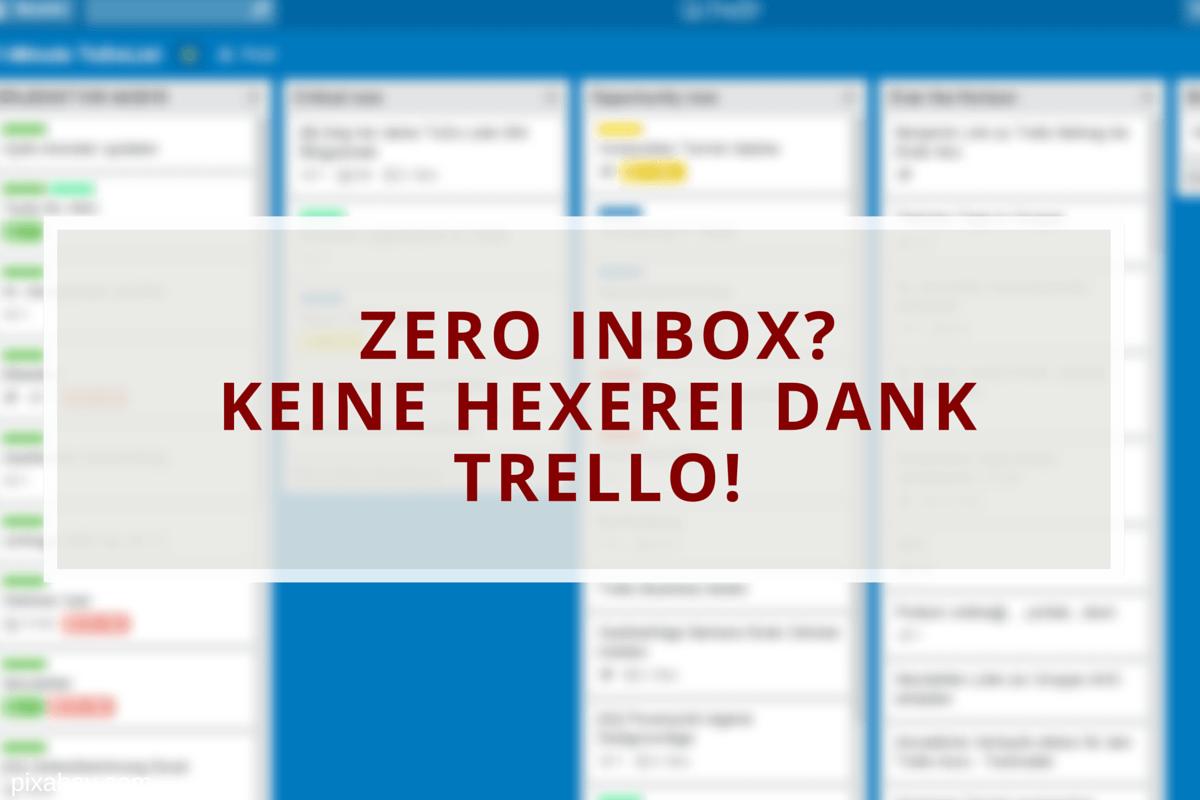 Mit Trello zur Zero Inbox