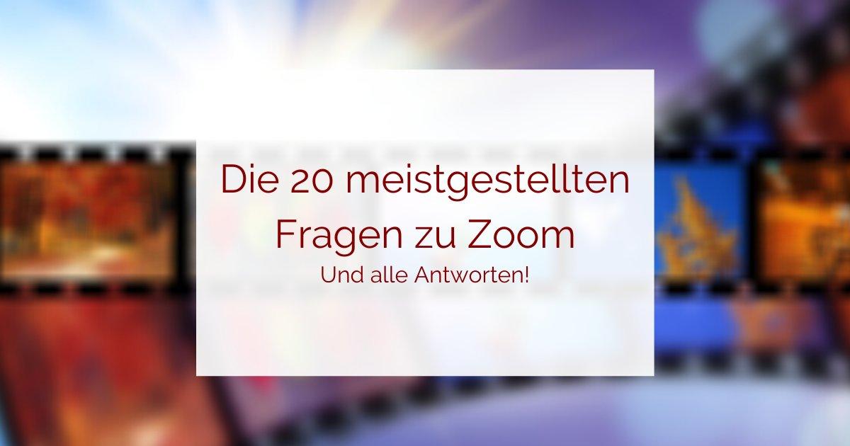 Zoom-Anleitungen